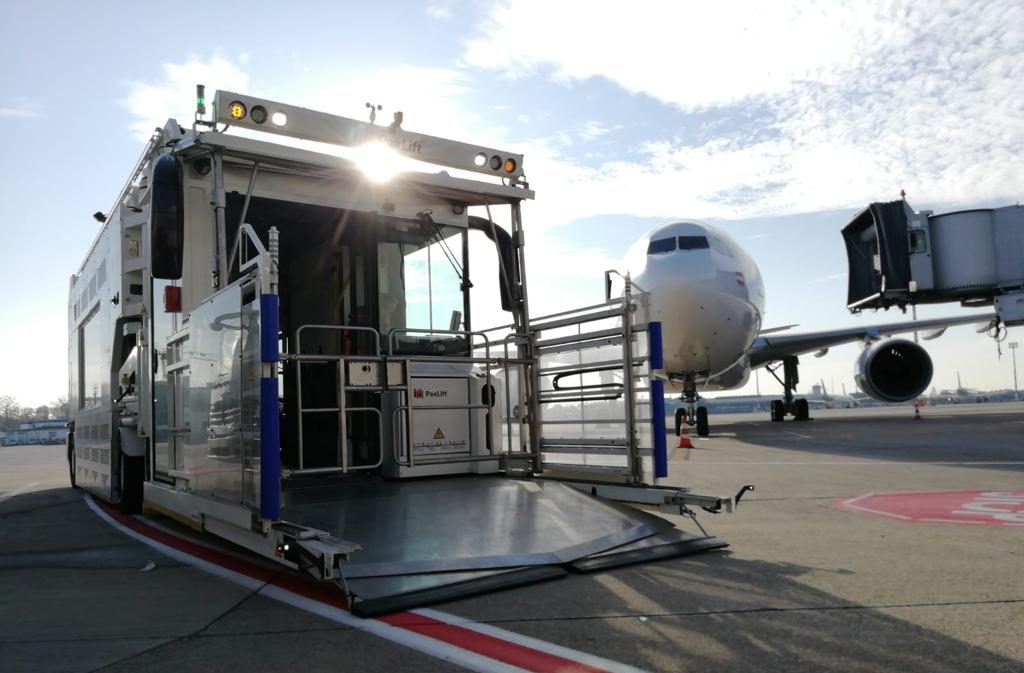 PaxLift 4.0 at DUS airport